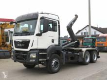 Camion polybenne MAN TGS TG-S 26.400 6x4 Abrollkipper kurzer Radstand, VDL