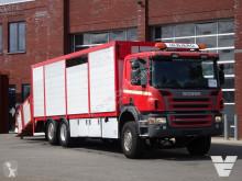 Camión remolque ganadero para ganado bovino Scania P 420