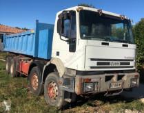 Camión volquete volquete trilateral Iveco Eurotrakker 410E37 H