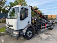 Camión Renault Midlum 270.16 HMF crane 635 Palfinger-HIAB caja abierta teleros usado