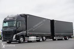 Camión Volvo FH / 500 / XXL / ACC / EURO 6 / ZESTAW PRZEJAZDOWY 120 M3 + remorque rideaux coulissants lonas deslizantes (PLFD) usado