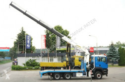 Camión portacoches MAN TGA 33.410 6x6 Palfinger PK 26502 Crane Kran
