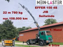 Tracteur MAN 18.264 Effer 150 -4S Kran 22m+ JIB+Seilwinde+FB occasion