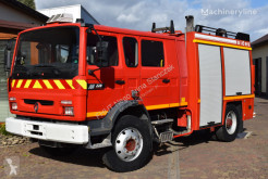 Camión Renault M220 SIDES Fire truck *3000L*1999* 8 places bomberos usado