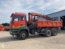 Camión volquete volquete trilateral MAN TGA 26.350