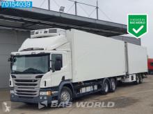 Lastbil med anhænger Scania P 410 køleskab monotemperatur brugt