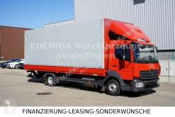 Camión Mercedes Atego Atego 818L Pritsche 7,22m LBW Klima Euro-6 lona corredera (tautliner) usado