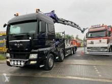 Ciężarówka platforma standardowa MAN TGA TGA 37.400 8x2 Kran PM 85027+J1204.20 Funk