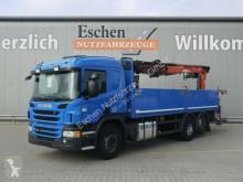 Caminhões estrado / caixa aberta caixa aberta Scania P P 360*Atlas Kran 186.3 V*Klima*Lift/Lenk*Opti