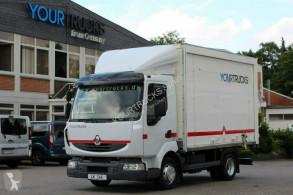 Камион фургон Renault Midlum / Koffer 4,1m / seitliches Rolltor + Tür