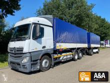 Camion remorque savoyarde Mercedes Actros