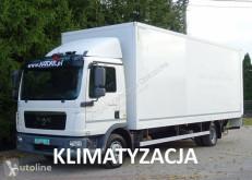 Camión furgón MAN TGL 12.220 Euro 5 Manual kontener z klapą poduszki