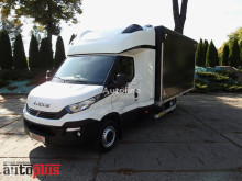 Camión lona corredera (tautliner) Iveco DAILY35S18 PLANDEKA 10 PALET KLIMATYZACJA WEBASTO TEMPOMAT PNEU