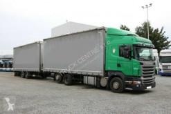 Camión Scania R 420,EURO 5,18 PALLETS+SCHWARZMULLER,18 PALLETS lonas deslizantes (PLFD) usado