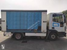 Caminhões Iveco Eurocargo ML 80 E 18 D caixa aberta com lona usado
