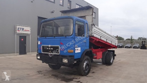 Camion MAN 16.192 (BIG AXLE / STEEL SUSPENSION / 6 CYLINDER ENGINE WITH MANUAL PUMP) benne occasion