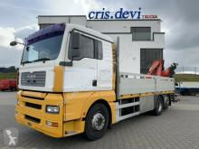 Camión MAN TGA 26.480 6x2 Fassi F170 | Intarder Liftachse caja abierta usado