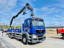 شاحنة MAN TGS TGX 26.360 E5 6x2 budowlanka + HDS z pilotem , Super stan ! منصة مستعمل