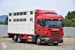 Camión remolque para caballos Scania G 440 TIERTRANSPORTWAGEN 6,80m / 3 STOCK !
