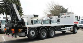 Camión Palfinger Volvo FMX410 crane truck PK22002 8x4 caja abierta teleros usado