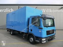 Ciężarówka furgon MAN TGL TGL 12.180 Koffer*Seitentür*Klima*1.Hd*A