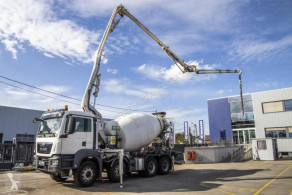 MAN concrete pump truck truck TGS