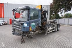 Camión Scania P 360 Gancho portacontenedor vehículo para piezas