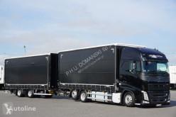 Camión lonas deslizantes (PLFD) Volvo FH / / 460 / XXL / ACC / EURO 6 / ZESTAW PRZEJAZDOWY 120 M3 + remorque rideaux coulissants