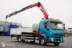 Camión Volvo FL / / 240 E 5 / SKRZYNIOWY + HDS / HMF 1220 K 5 / WYSIĘG 14,9 M caja abierta usado