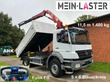 Camión volquete Mercedes Axor 1829 HMF 11m-1.480 kg 5+6 Steuerkreis +FB