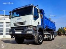 Teherautó Iveco Trakker 6x6 Bordmatik használt billenőkocsi