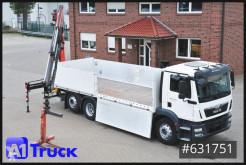 Camião estrado / caixa aberta MAN TGM 26.340, Palfinger, ACC, Navi Lift- u. Lenkachse