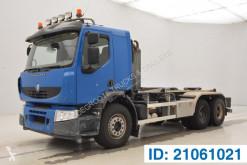 Camión Gancho portacontenedor Renault Premium Lander