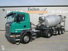 Camión hormigón cuba / Mezclador Scania G G 490LA*4x2*Mischauflieger Stetter 10m³*Lift*BPW
