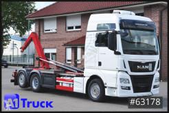 MAN billenőplató teherautó TGX 26.480, HIAB Multilift, Lift- Lenkachse,Standklima,