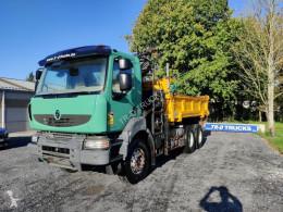 شاحنة حاوية قلابة جانبية Renault Kerax 410