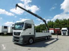 Ciężarówka MAN TGX 26.440 TGX Kran Funk-FB Lift-Lenkachse Euro 6 platforma burtowa używana