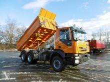 Ciężarówka Iveco Trakker Trakker 450 Euro 5 EEV Meiller Kipper wywrotka trójstronny wyładunek używana