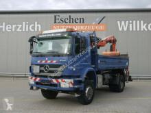 Camion bi-benne Mercedes Axor Axor 1833 AK 4x4 Kipper*Atlas 126.3E3*Klima*FUNK