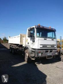 Lastbil dubbel vagn Iveco Eurotrakker