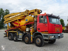 Astra HD7 84.42 truck used concrete mixer + pump truck concrete