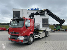 Ciężarówka Renault Midlum Midlum 280-18 4x2 HMF 1250 K3 platforma burtowa używana