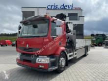 Camión Renault Midlum Midlum 280-18 4x2 HMF 1250 K3 caja abierta teleros usado
