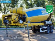 BM 12-36-2 12m3 + DEUTZ Separat-Motor semi-trailer used concrete mixer concrete
