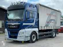 Ciężarówka MAN TGX TGX 18.480LL XXL AWL Wechselsystem + Pritsche Plandeka używana