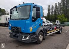 Lastbil Renault Midlum 250 kylskåp begagnad