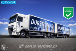 Lastbil med släp DAF XF transportbil begagnad