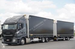 Caminhões cortinas deslizantes (plcd) Iveco Stralis / 460 XP / HI-WAY / ACC / EURO 6 / ZESTAW PRZESTRZENNY12 + remorque rideaux coulissants