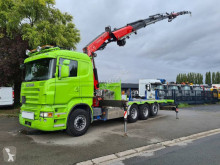 Camión Scania G 480 caja abierta estándar usado