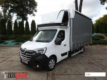 Камион подвижни завеси Renault MASTERNOWY PLANDEKA 10 PALET KLIMATYZACJA WEBASTO TEMPOMAT LEDY